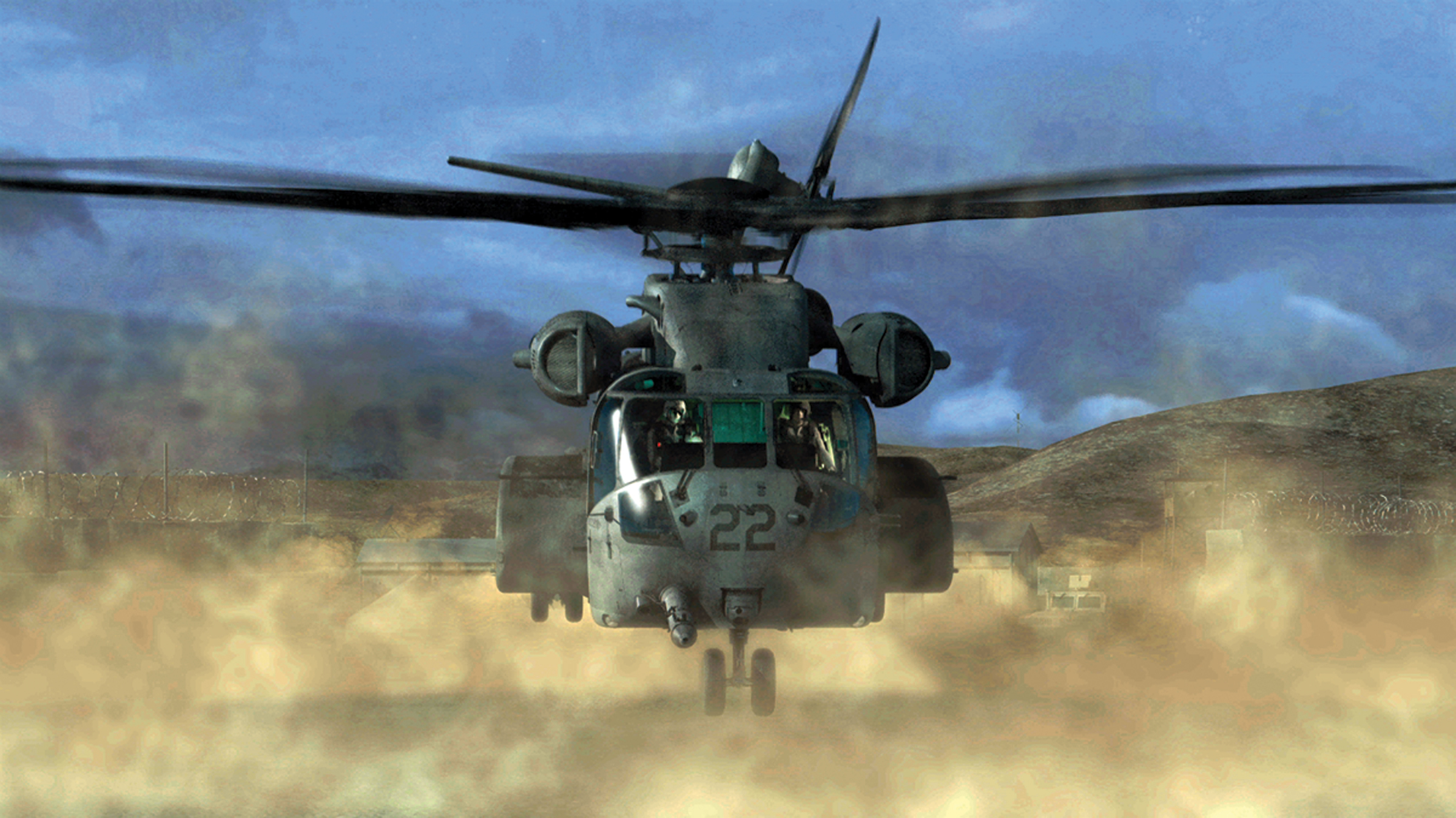 CH-53K Helicopter