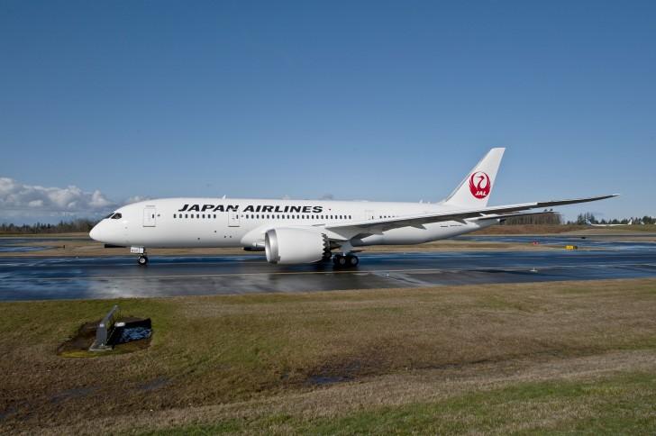 Japan Airlines 787-8 Dreamliner
