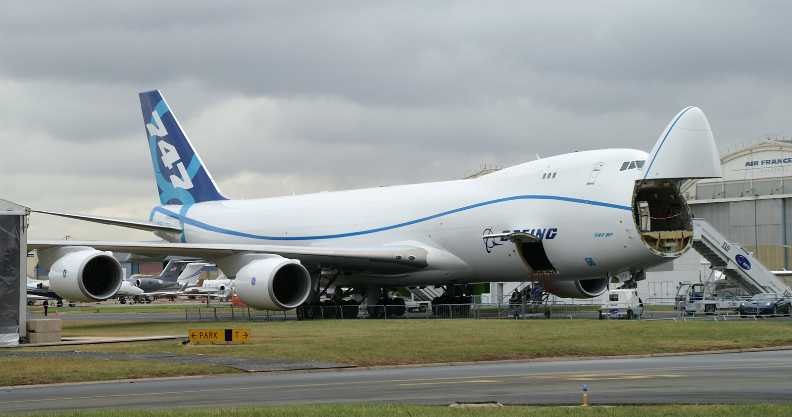 N50217/JAW Boeing 747-8KZF/SCD Freighter