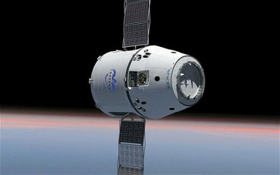 SpaceX cargo ship