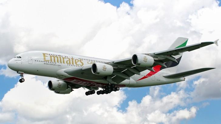 Emirates A380-861 A6-EDS