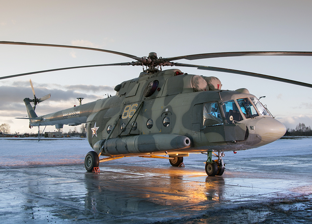 Russian Helicopters To Unveil Mi 8mtv 5 With Gyro