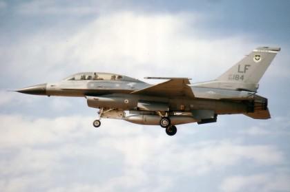 F-16D USAF