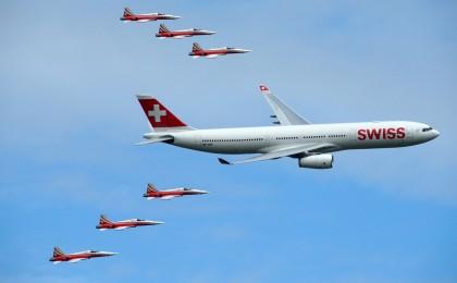 A330 Swiss and Patrouille de Suisse