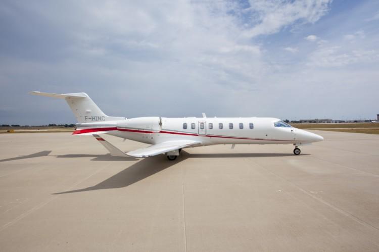 Learjet 75 F-HINC