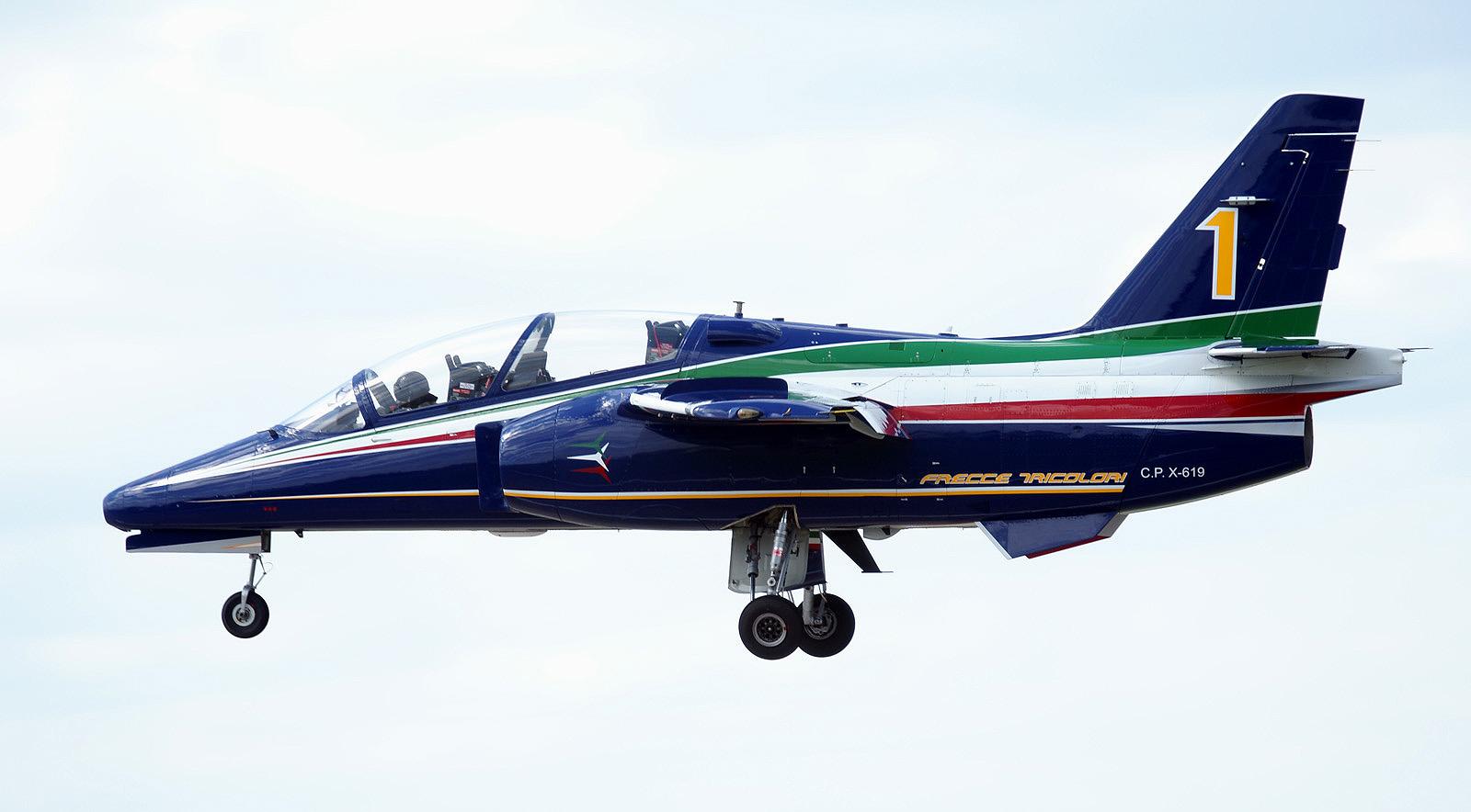 M-345 C.P.X-619/1 Alenia-Aermacchii, Frecce Tricolori