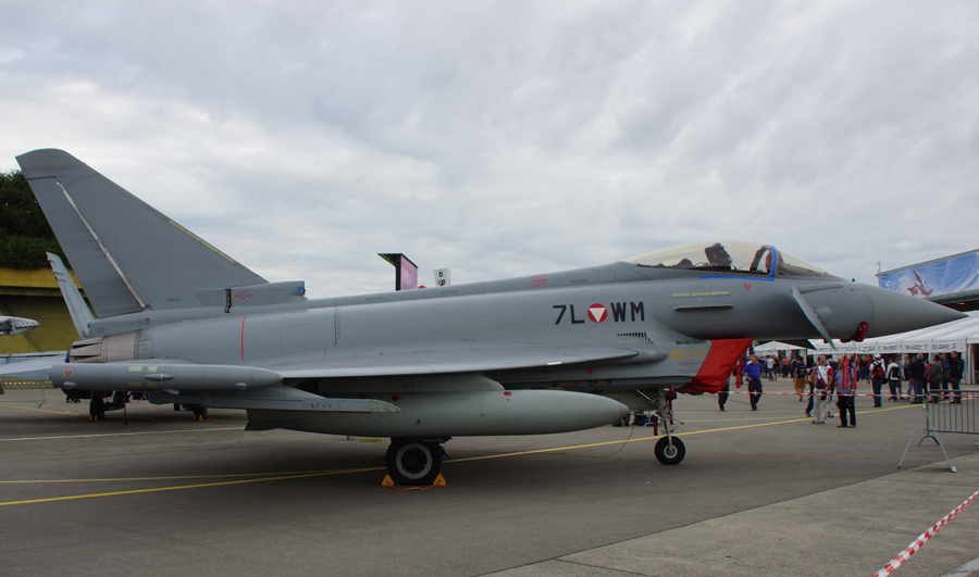Eurofighter EF2000 Typhoon 7L-WM Austrian Air Force