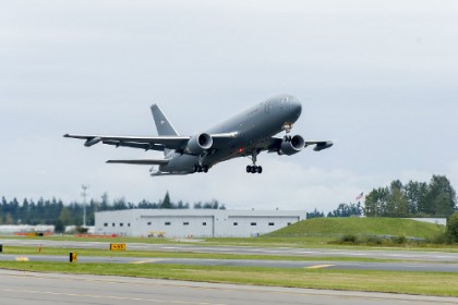 KC-46A Tanker First Flight