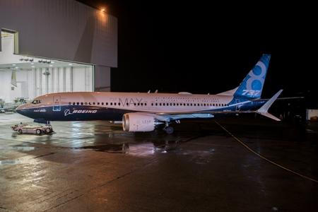 Boeing 737 MAX 8 prototype