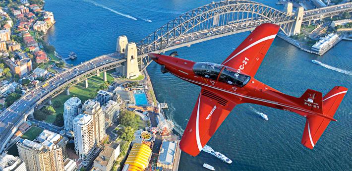 PC-21 Sidney Harbour Bridge