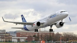 A321neo CFM engine First Flight