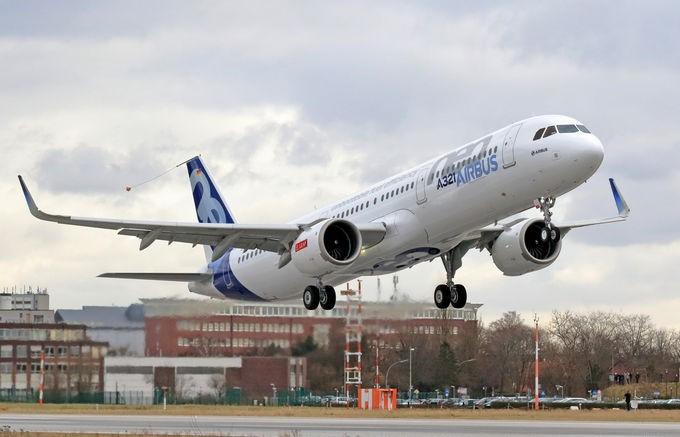 A321neo CFM engine First Flight