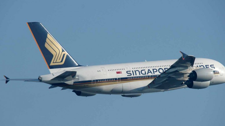 Airbus A380 Singapore Airlines