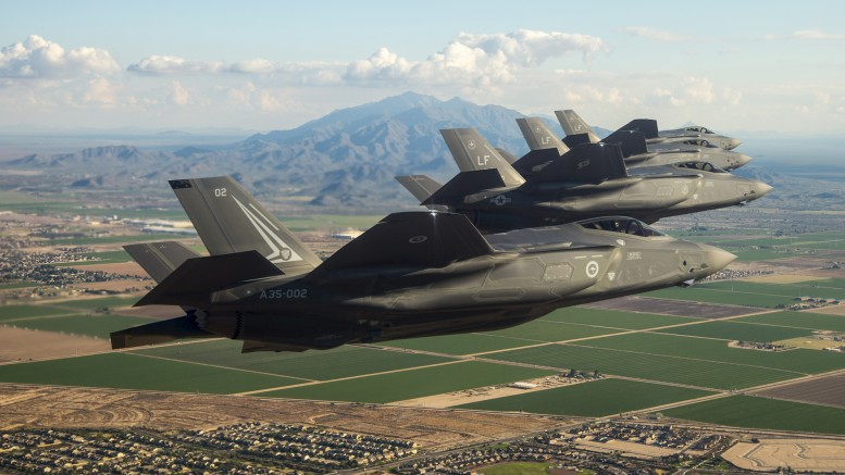 F-35A's at Luke AFB