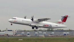 ATR 72-600 turboprop aircraft