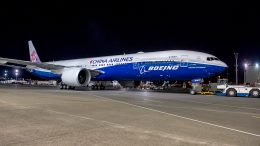 Boeing, China Airlines Co-Branded 777
