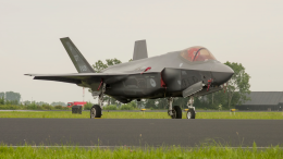 Dutch air force F-35A F-001