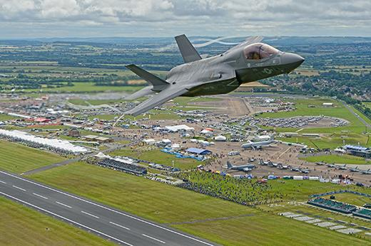 F-35B Royal International Air Tattoo at RAF Fairford in Gloucestershire