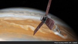 Juno BAE spacecraft