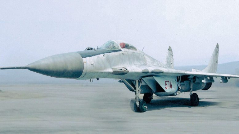 MiG-29 574 North Korean Air Force
