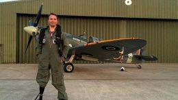 Sergeant Alan Robinson RAF Amputee Spitfire pilot