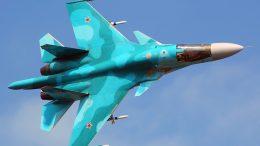 Su-34 frontline bombers