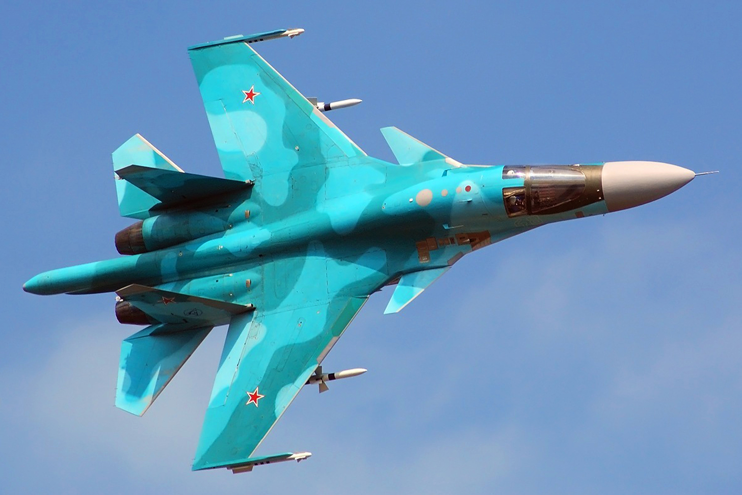 SUKHOI HANDED OVER ANOTHER BATCH OF SU-34 FRONTLINE BOMBERS TO THE ...