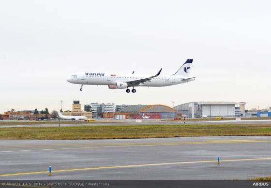 A321 Iran Air