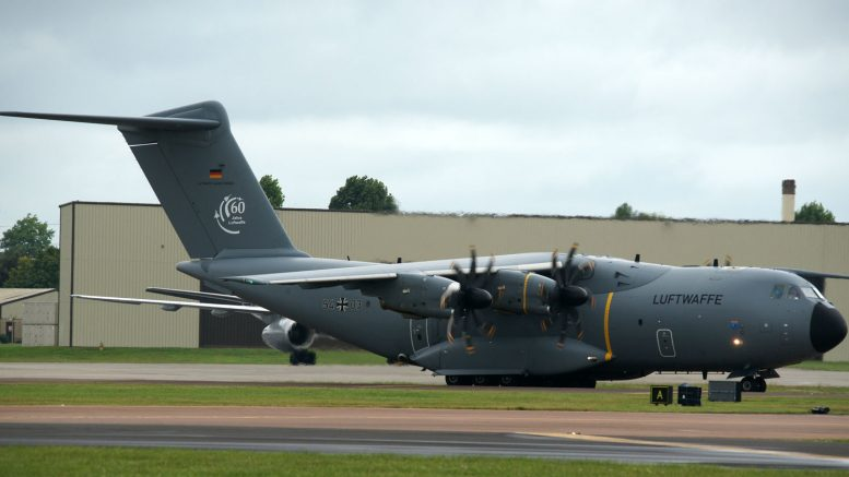 Airbus A400M 54+03 German Air Force