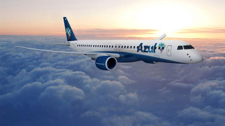 E195-E2 Azul