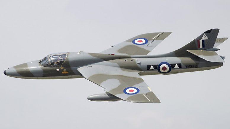 Hawker Hunter G-BXFI WV372