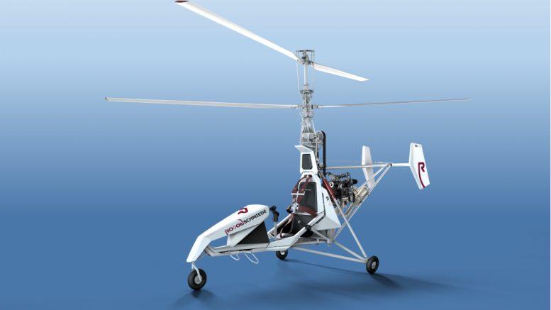 RotorSchmiede's VA115 Co-axial Helicopter
