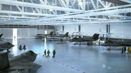 future F-35 Lightning II Maintenance and Finish facility at RAF Marham