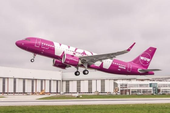 A320neo WOW air