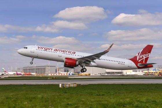 A321neo Virgin America