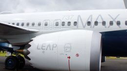 737 MAX 8 Leap engine