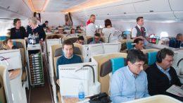 A350-1000 passenger flight