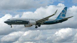 Boeing 737 MAX 8 N8704Q Boeing Company