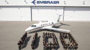 Embraer 1.100 commemorative jet