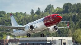 737 MAX 8 Norwegian