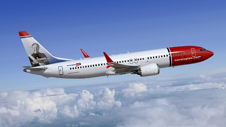 737 MAX 8 Norwegian