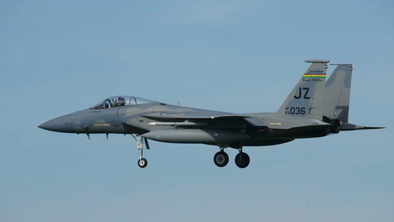 F-15C Eagle 83-0036/JZ 122nd FS LA ANG USAF