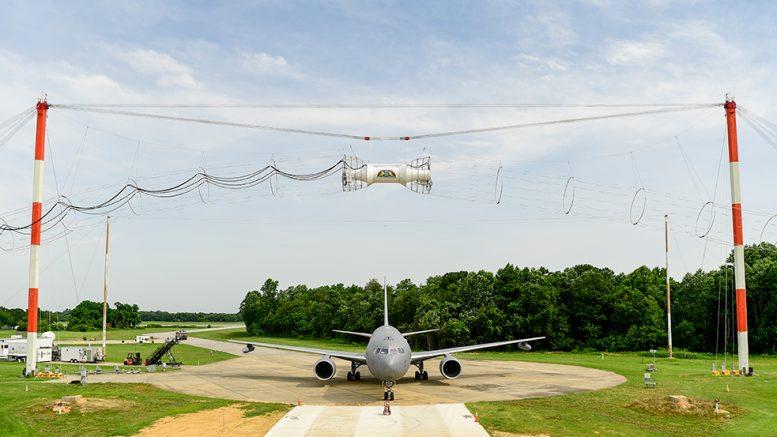 KC-46 Tanker Electromagnetic Testing