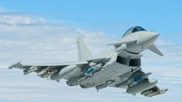 RAF Typhoon full armed