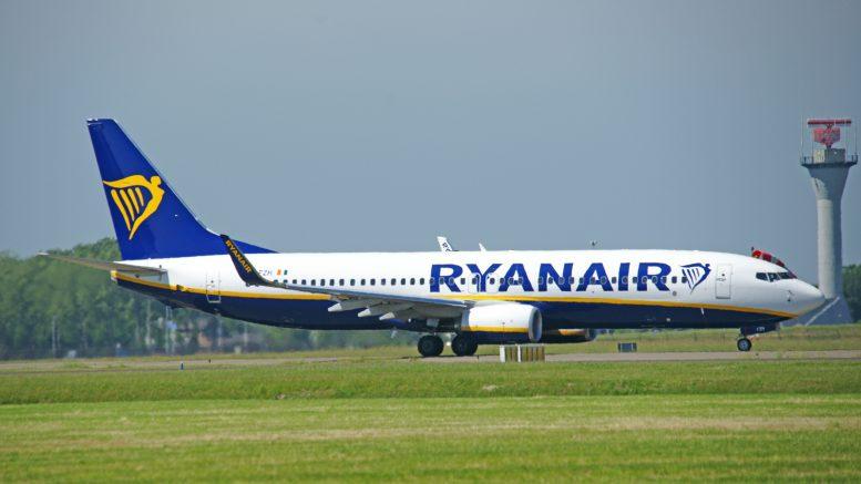 Boeing 737-8AS EI-FZH Ryanair