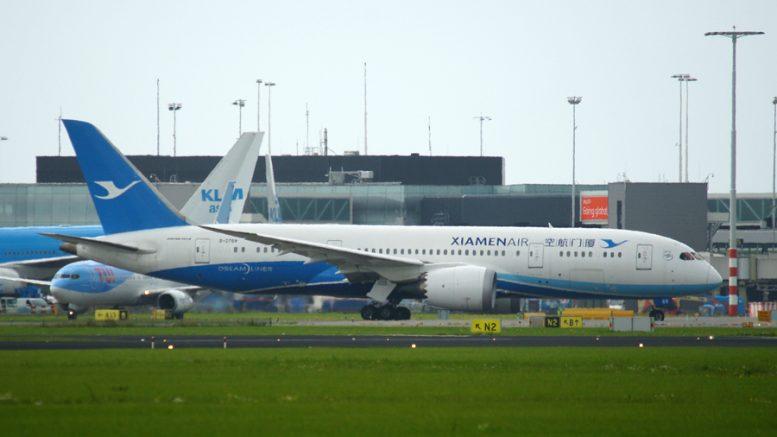 787-8 Xiamen Air
