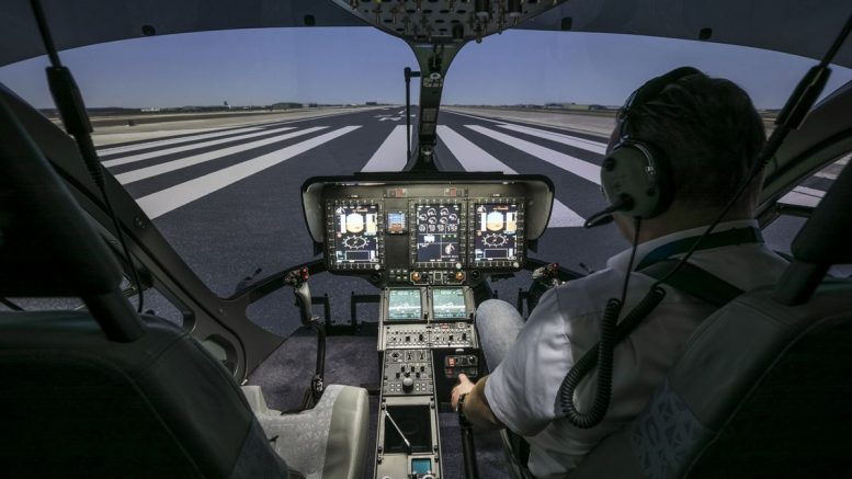 H145 full flight simulator