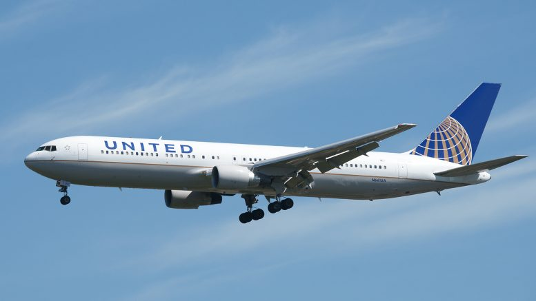 Boeing 767-322ER N661UA United Airlines