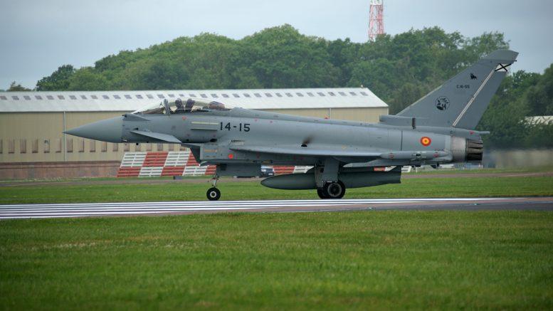 Eurofighter EF2000 Typhoon C.16-55/14-15 Ala 14 Spanish Air Force