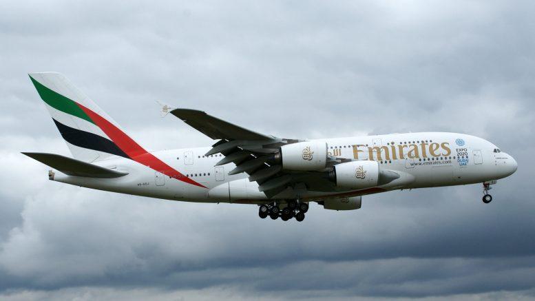 Airbus A380-861 A6-EDJ Emirates